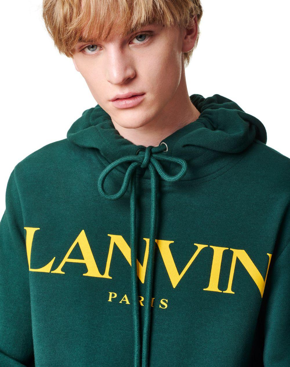PRINTED HOODIE - Lanvin