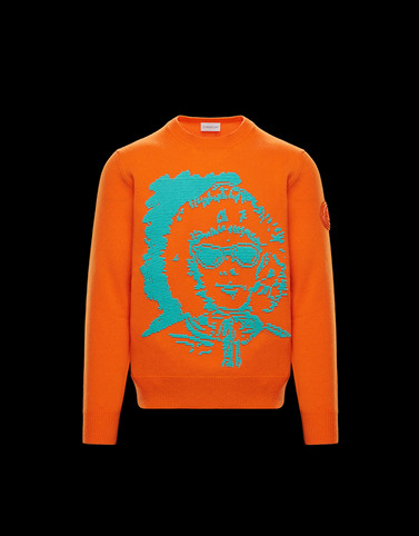 CREWNECK Orange Category Crewnecks Man