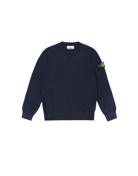 Sweater Man 501A4 Front STONE ISLAND JUNIOR