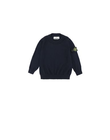 STONE ISLAND BABY 501A4 Sweater Man Blue USD 132
