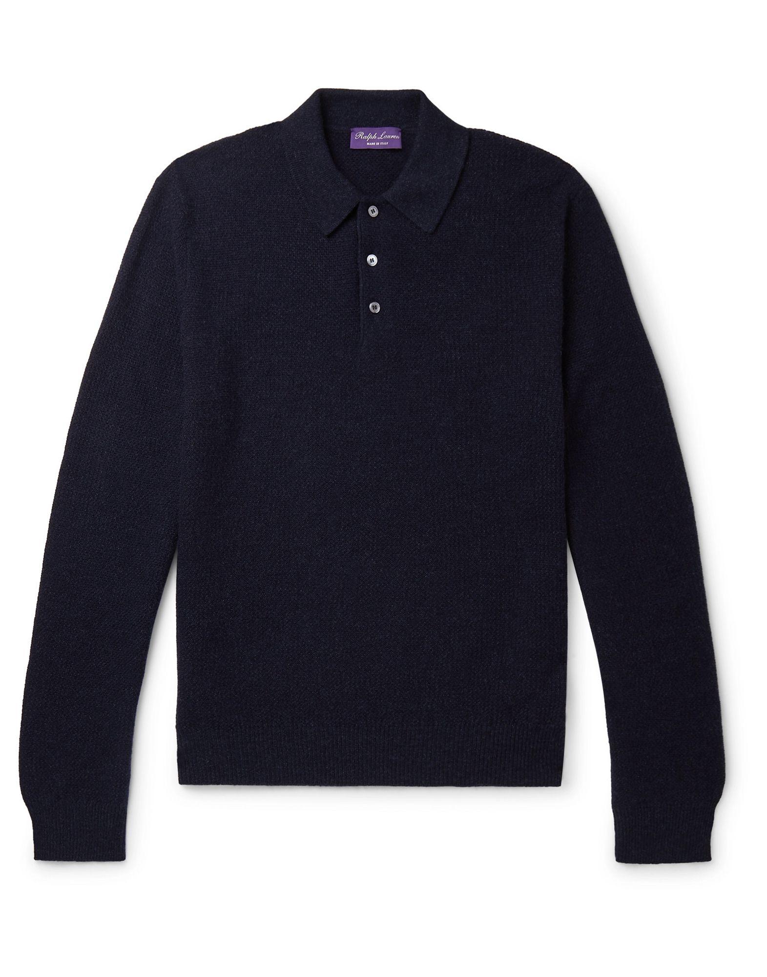 Pullover ralph lauren purple label homme. bleu...