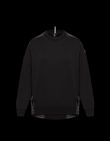 CREWNECK Black Grenoble Knitwear Woman