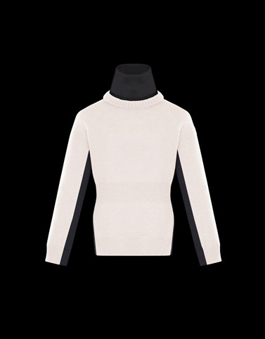HIGH NECK Pink Category Turtleneck Woman