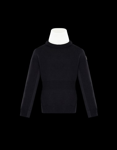 HIGH NECK Black Grenoble_kids-4-6-years-girl Woman