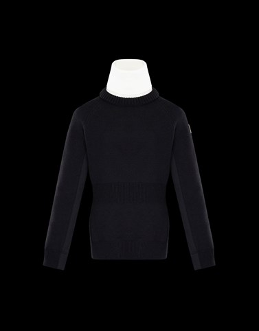 HIGH NECK Black Category Turtleneck Woman