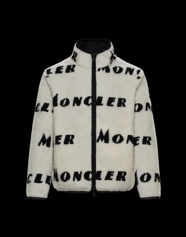 CARDIGAN Ivory Sweatshirts Man