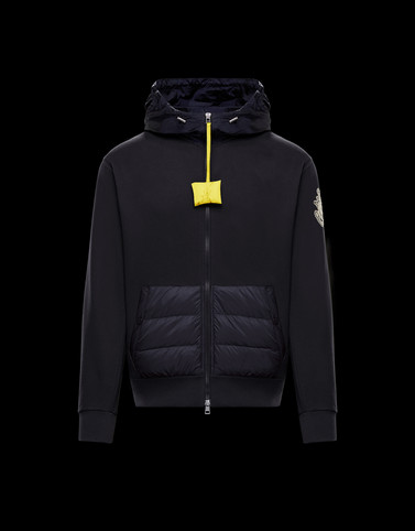 HOODED CARDIGAN Blue 1 Moncler JW Anderson Woman