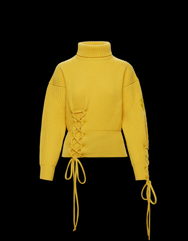 HIGH NECK Yellow 1 Moncler JW Anderson Woman