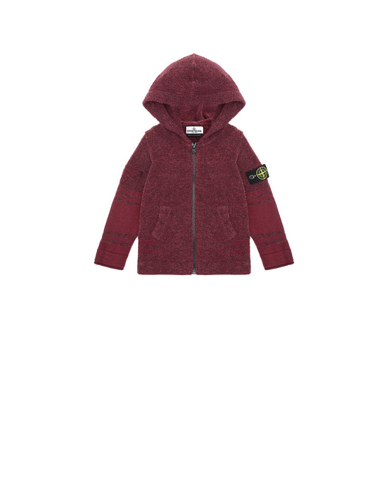 STONE ISLAND BABY 518A5 Sweater Man Dark Burgundy