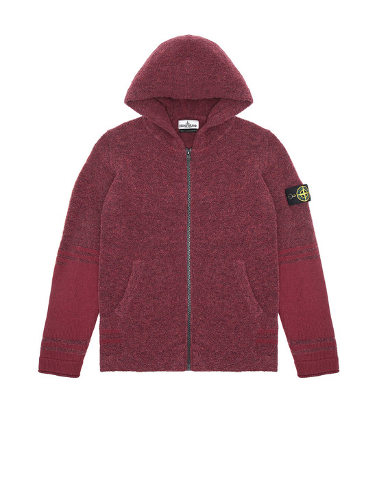 Sweater Man 518A5 Front STONE ISLAND TEEN