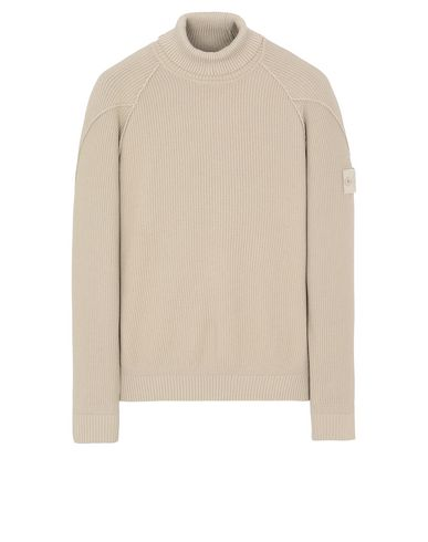 STONE ISLAND 582FA GHOST PIECE Sweater Man Beige EUR 344