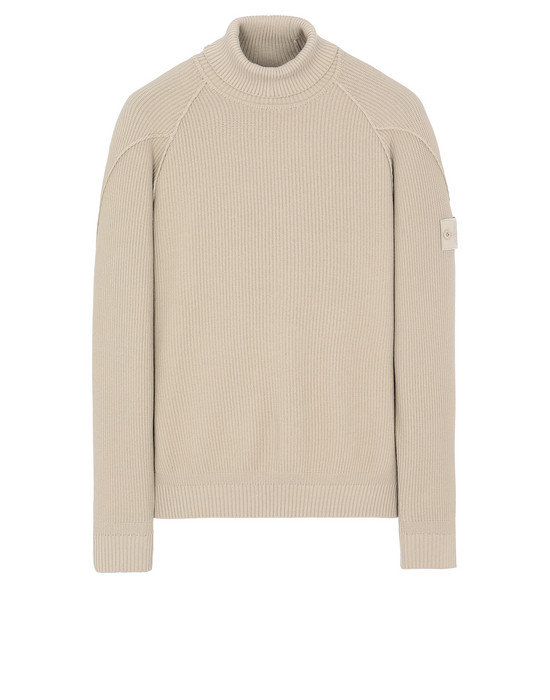 STONE ISLAND 582FA GHOST PIECE Sweater Man Beige