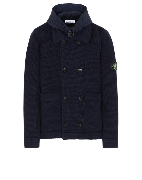Sold out - STONE ISLAND 557B8 Sweater Man Blue