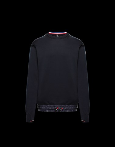 CREWNECK Dark blue Grenoble Knitwear Man
