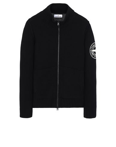 STONE ISLAND 593C7 Sweater Man Black USD 375