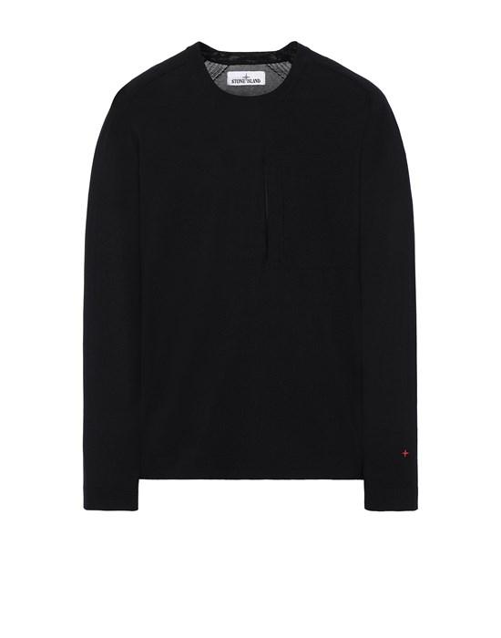 Sweater Herr 570XA STONE ISLAND MARINA<br>TECHNICAL COTTON / NYLON YARN_THERMO-REGULATOR Front STONE ISLAND