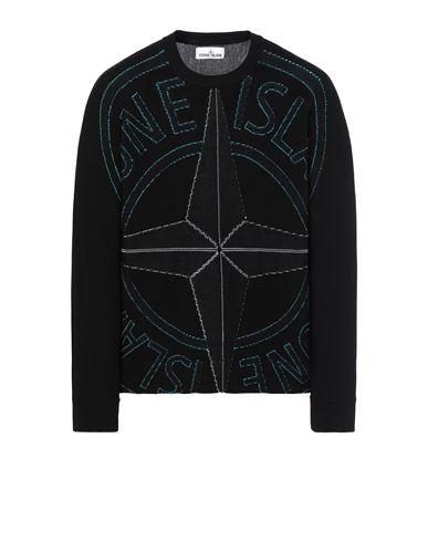 STONE ISLAND 514D1 Sweater Man Black USD 581