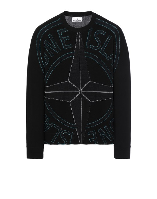 STONE ISLAND 514D1 Sweater Man Black