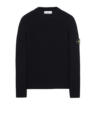 STONE ISLAND 552D8 Sweater Man Black USD 276