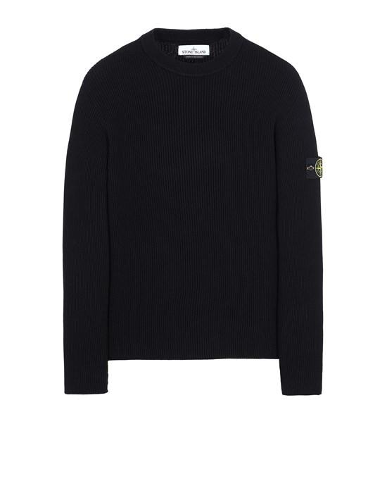 STONE ISLAND 552D8 Sweater Man Black