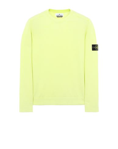STONE ISLAND 554D9 WHITE FROST TREATMENT Sweater Man Pistachio Green USD 276