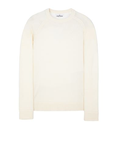 STONE ISLAND 547D3 Sweater Man Ivory USD 341