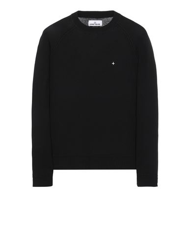 STONE ISLAND 547D3 Sweater Man Black EUR 229