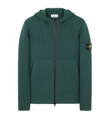STONE ISLAND 556B3 Sweater Man Dark Teal Green EUR 497