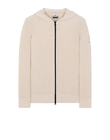 STONE ISLAND 506B1 Sweater Man Ivory USD 412