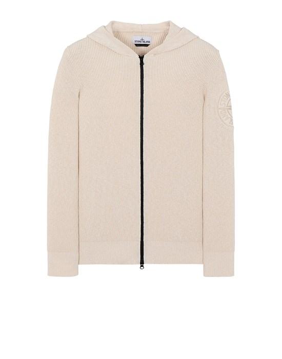 STONE ISLAND 506B1 Sweater Man Ivory
