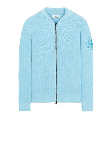 STONE ISLAND 506B1 Sweater Man Turquoise USD 383