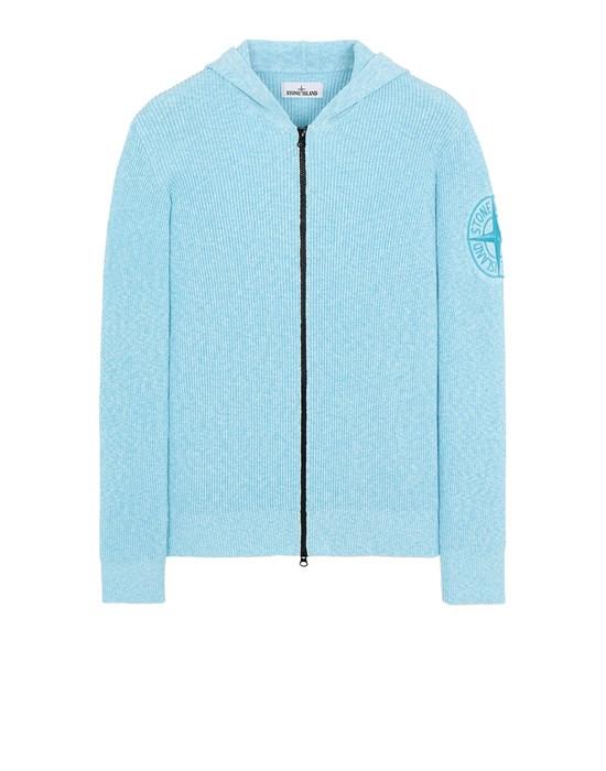 STONE ISLAND 506B1 Sweater Man Turquoise