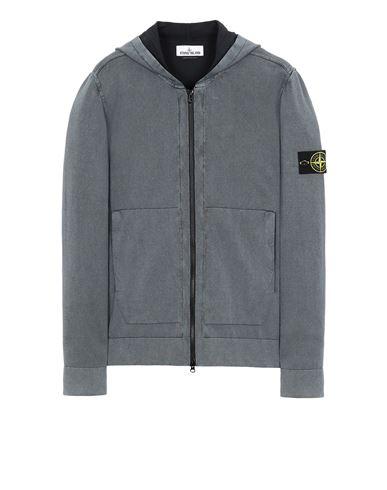 STONE ISLAND 553D9 WHITE FROST TREATMENT   Sweater Man Black EUR 375