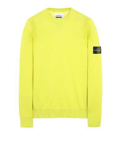 STONE ISLAND 504B2 Sweater Man Pistachio Green EUR 160