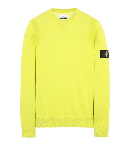 STONE ISLAND 504B2 Sweater Man Pistachio Green