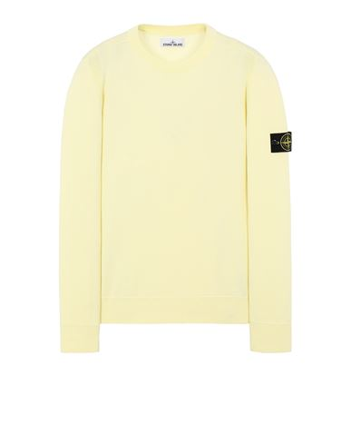 STONE ISLAND 504B2 Sweater Man Lemon EUR 174