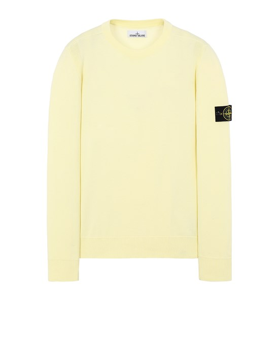 STONE ISLAND 504B2 Sweater Man Lemon