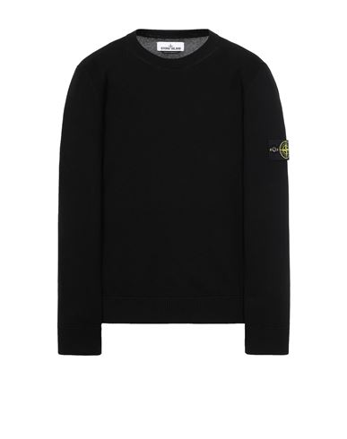 STONE ISLAND 504B2 Sweater Man Black EUR 229