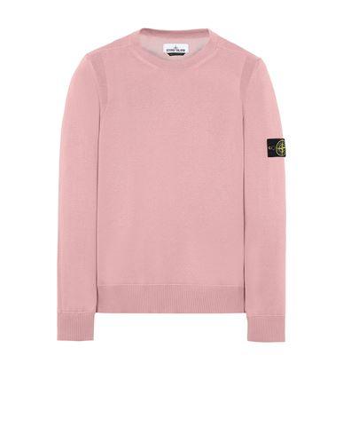 STONE ISLAND 504B2 Sweater Man Pink Quartz EUR 153