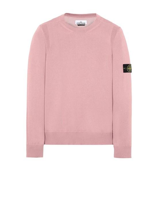 STONE ISLAND 504B2 Sweater Man Pink Quartz
