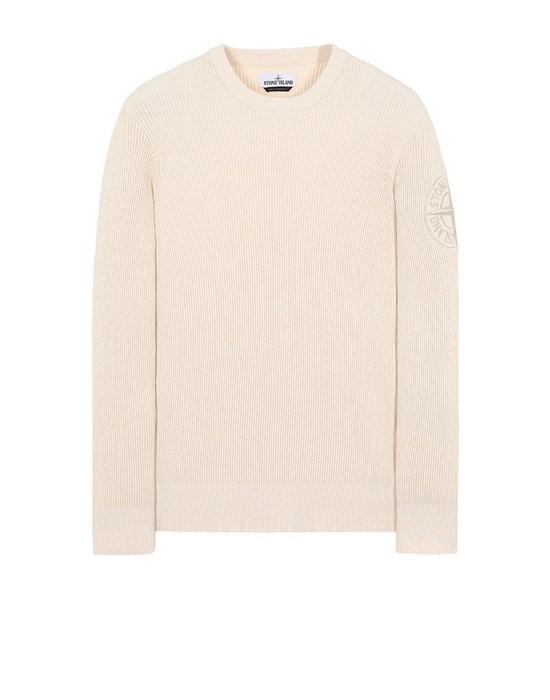 STONE ISLAND 507B1 Sweater Man Ivory