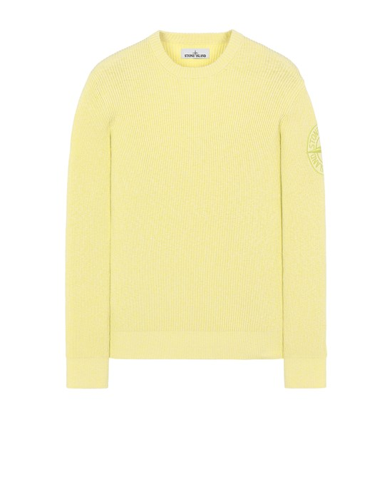 STONE ISLAND 507B1 Sweater Man Pistachio Green