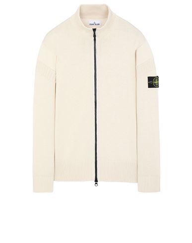 STONE ISLAND 508B6 Sweater Man Ivory USD 355