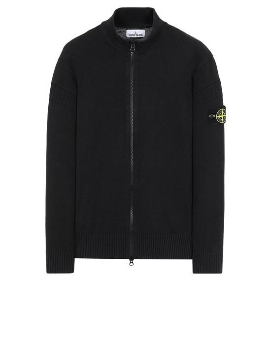 STONE ISLAND 508B6 Sweater Man Black