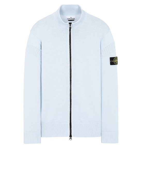 STONE ISLAND 508B6 Sweater Man Sky Blue