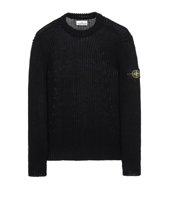 STONE ISLAND 555D5 Sweater Man Black