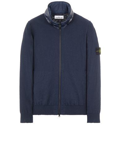 STONE ISLAND 525B0 Sweater Man Blue EUR 291