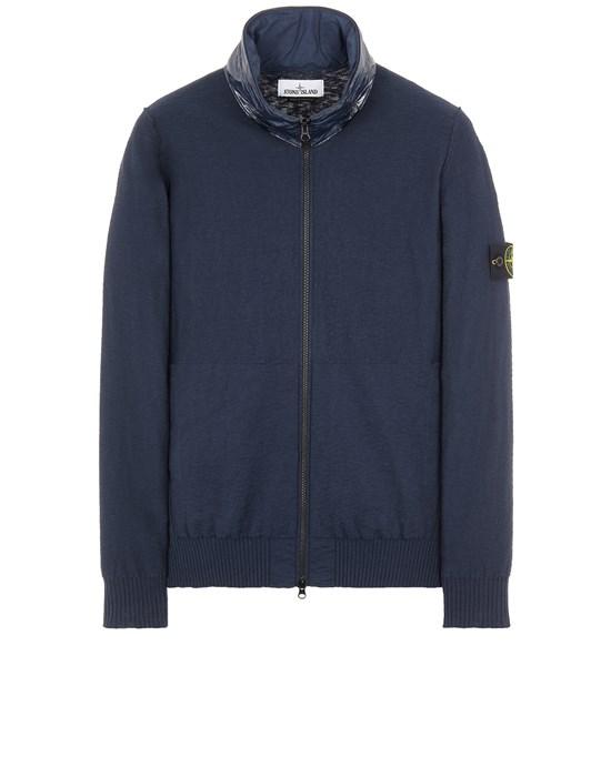 STONE ISLAND 525B0 Sweater Man Blue