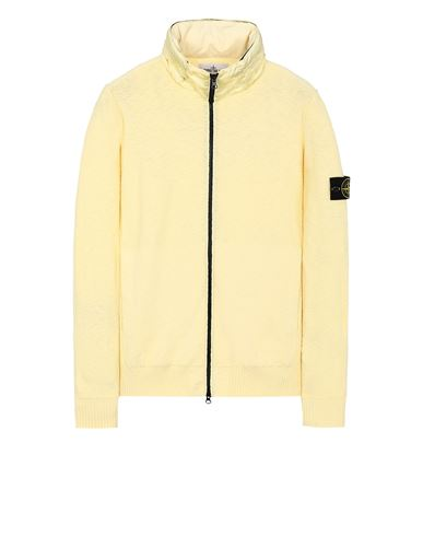 STONE ISLAND 525B0 Sweater Man Lemon USD 486