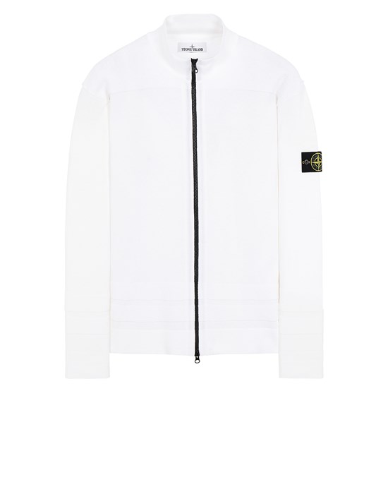 STONE ISLAND 531B4 Sweater Man White